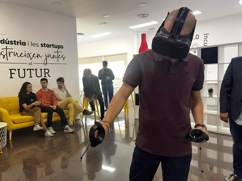 realitat virtual realitat augmentada nodus tech space